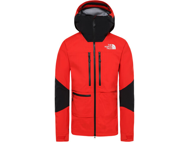 The North Face L5 Jacket Herre fiery red/tnf black